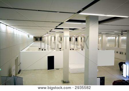Ausstellung interior