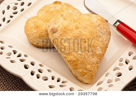 Heart Shaped Biscuts 2