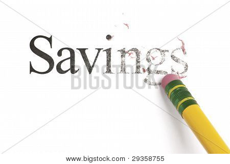 Erasing Savings