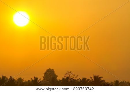 Global Warming From The Sun And Burning, Heat Wave Hot Sun, Climate Change, Heatwave Hot Sun, Makes