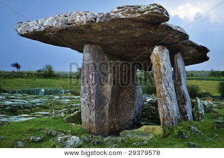 Portal Dolmen ancient burial tomb