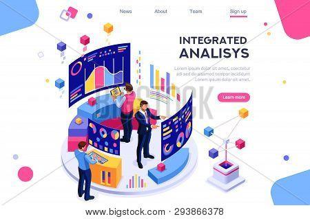 Chart Analyzing, Statistics Visualization Display. Database, Desktop Visualization Management. Inter