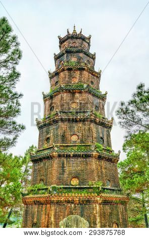 The Pagoda Of The Celestial Lady In Hue, Vietnam