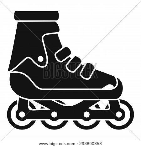 Modern Inline Skates Icon. Simple Illustration Of Modern Inline Skates Vector Icon For Web Design Is