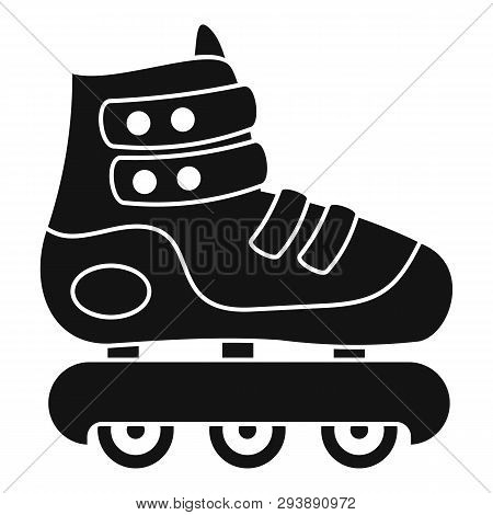 Protected Inline Skates Icon. Simple Illustration Of Protected Inline Skates Vector Icon For Web Des
