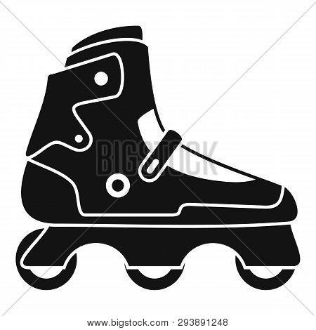 Indoor Inline Skates Icon. Simple Illustration Of Indoor Inline Skates Vector Icon For Web Design Is