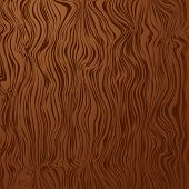 Wooden grained abstract background with copy space in brown poster