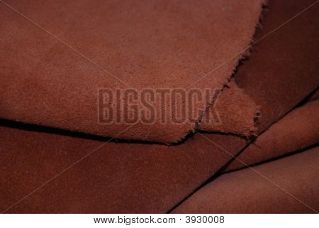 Rust Colored Suede