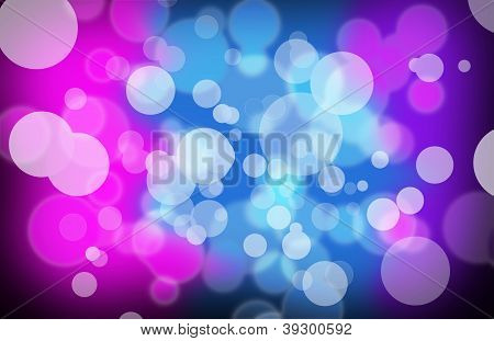 Party Bubble Background