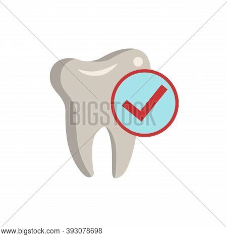 Dental Checkup Icon. Simple Element From Dentistry Collection. Creative Dental Checkup Icon For Web