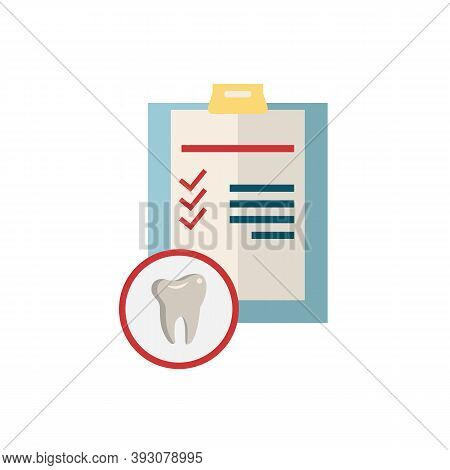 Dentistry Icon. Monochrome Simple Dentistry Icon For Templates, Web Design And Infographics