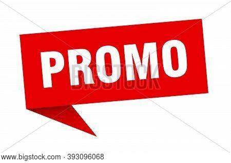 Promo Banner. Promo Speech Bubble. Promo Sign