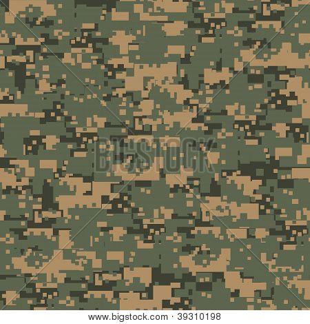 Green Digital Camouflage
