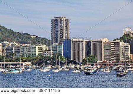Rio De Janeiro, Brazil - 08 May 2016: The Marina In Rio De Janeiro, Brazil