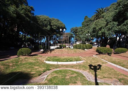 Buenos Aires, Argentina - 03 May 2016: The Church In Tigre Delta District, Buenos Aires, Argentina