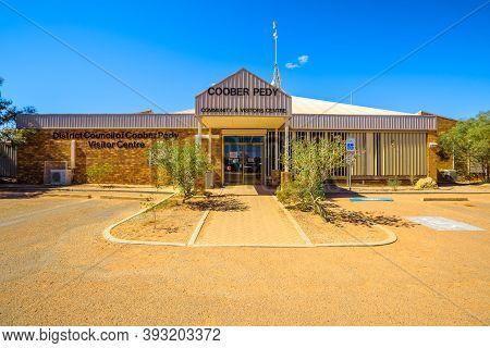 Coober Pedy, South Australia, Australia - Aug 27, 2019: Visitors Centre Of Coober Pedy In Australia.