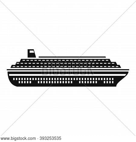 Floating Cruise Icon. Simple Illustration Of Floating Cruise Vector Icon For Web Design Isolated On