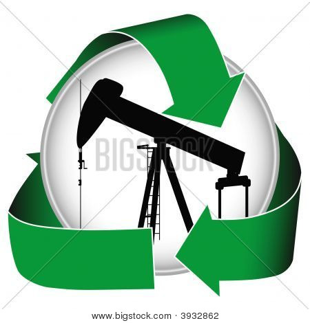Green Oil Icon