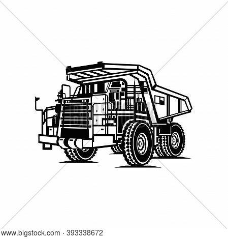 Dump Truck - Industrial Dump Truck Dumper Equipment Builder Building Build