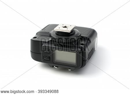 Trigger For A Camera With A Display And A Metal Shoe.