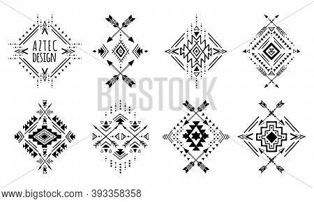 Aztec Vector Elements.