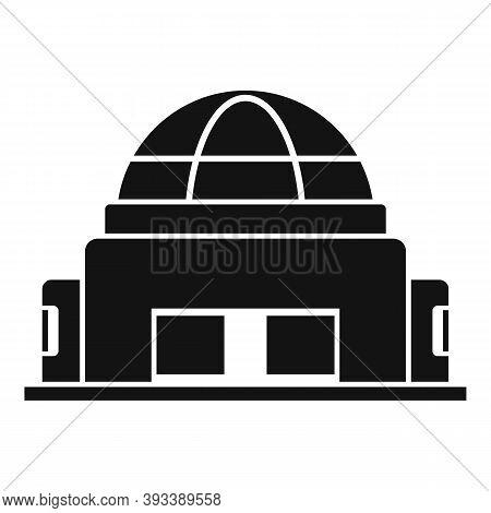 Optical Planetarium Icon. Simple Illustration Of Optical Planetarium Vector Icon For Web Design Isol