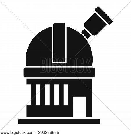 Discovery Planetarium Icon. Simple Illustration Of Discovery Planetarium Vector Icon For Web Design