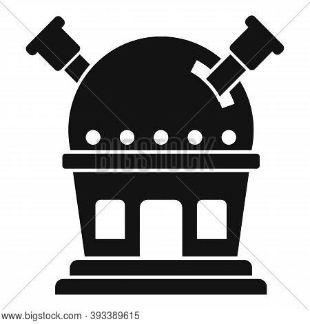 Modern Planetarium Icon. Simple Illustration Of Modern Planetarium Vector Icon For Web Design Isolat