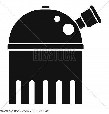 Educational Planetarium Icon. Simple Illustration Of Educational Planetarium Vector Icon For Web Des
