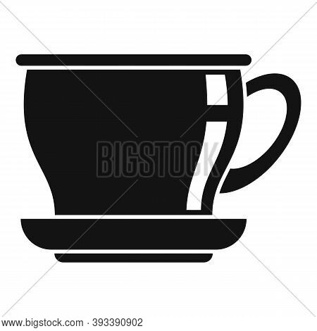 Ceramic Tea Cup Icon. Simple Illustration Of Ceramic Tea Cup Vector Icon For Web Design Isolated On