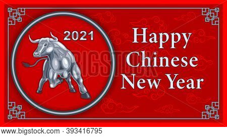 Metal Iron Bull, Chinese New Year According To The Eastern Calendar
