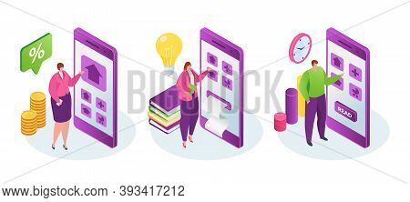 Tax Benefits Set Of Isolated Vector Illustrations. Taxation And Assessment. Notice Of Assessment, In