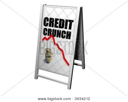 Credit Crunch Stand Board
