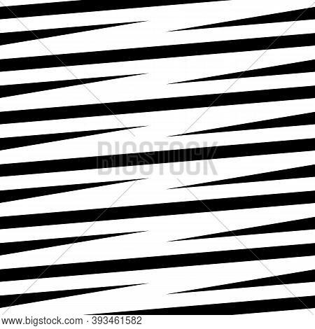Diagonal Lines Seamless Pattern. Angled Stripes Ornament. Linear Motif. Pinstripes Print. Striped Ba