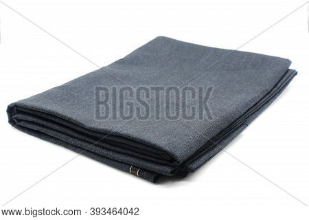 Cloth For Men Pant Isolated On White Background With Selective Focus