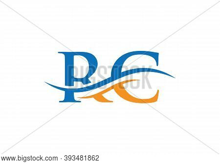 Rc Letter Logo Design. Rc Logo For Luxury Branding. Elegant And Stylish Design For Your Company.