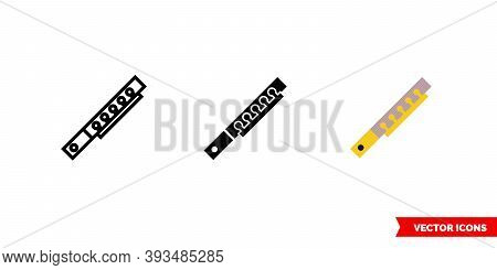 Piccolo Icon Of 3 Types Color, Black And White, Outline. Isolated Vector Sign Symbol.