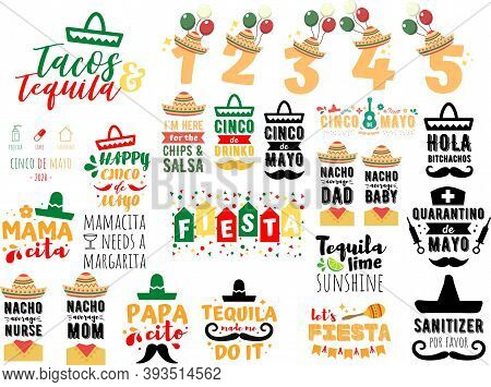 Collection Of Cinco De Mayo Phrases, Slogans Or Quotes