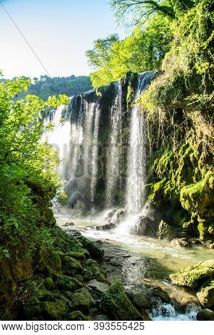 Waterfall Of Marmore Terni Umbria Lower Part