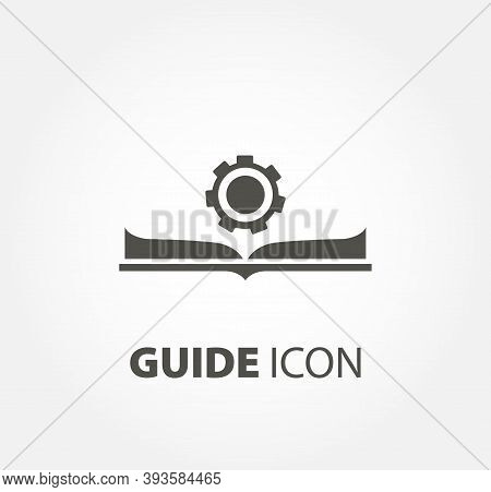 Guide Icon. Manual Book. User Manual Design Element