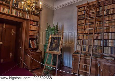 Czech Republic, Czech Sternberg, 07,01,2016 Old Library In The Castle Museum Czech Sternberg