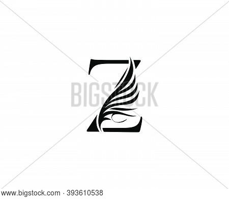 Classic Z Luxury Logo Icon, Vintage Z Letter Design.