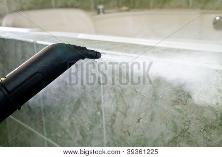 máquina de limpieza de vapor