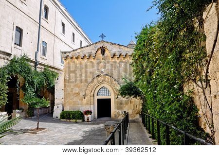 The Second Station Of The Via Dolorosa-the Church Of The Flagellation (jerusalem)