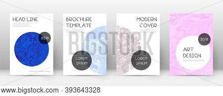 Abstract Cover. Fetching Design Template. Suminagashi Marble Trendy Poster. Fetching Trendy Abstract