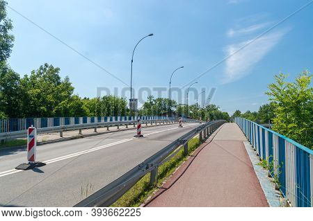 Viaduct Named After The Marshal Of The Sejm Of The Republic Of Poland Maciej Plazynski In Tczew, Pol