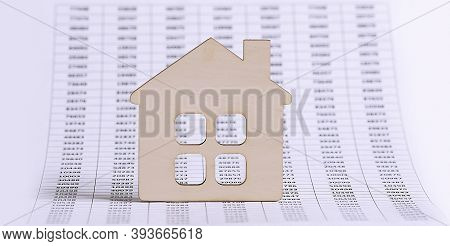 Housing Market Concept Image With Graph On Chart Background,business