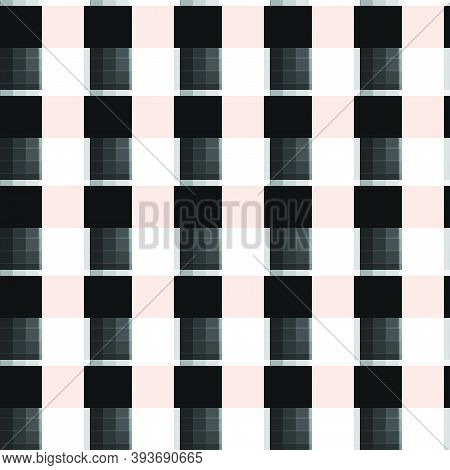 Colorful Abstract Vector Texture, Background Pattern Created From Geometric Shapes Such As Rectangle