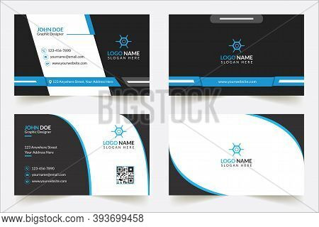 Modern Professional Business Card Template, Simple Business Card, Business Card Design Template, Corporate Business Card Design, Colorful Business Card Template, Creative Business Card, Editable Business Card, Abstract Business Card