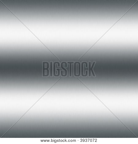 fine brushed metal background or background with highlights poster